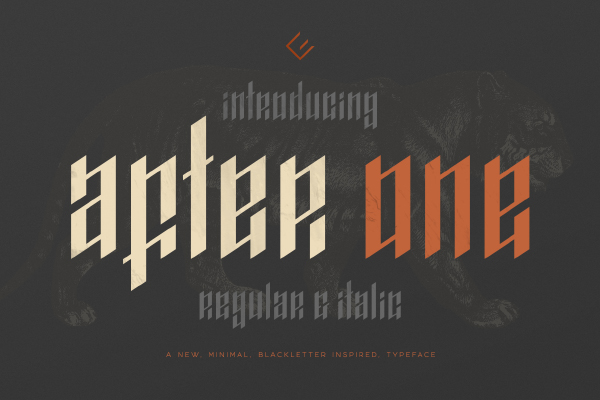 After One Blackletter Fo...
