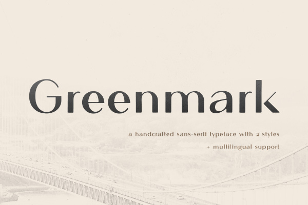 Greenmark Hand Drawn San...