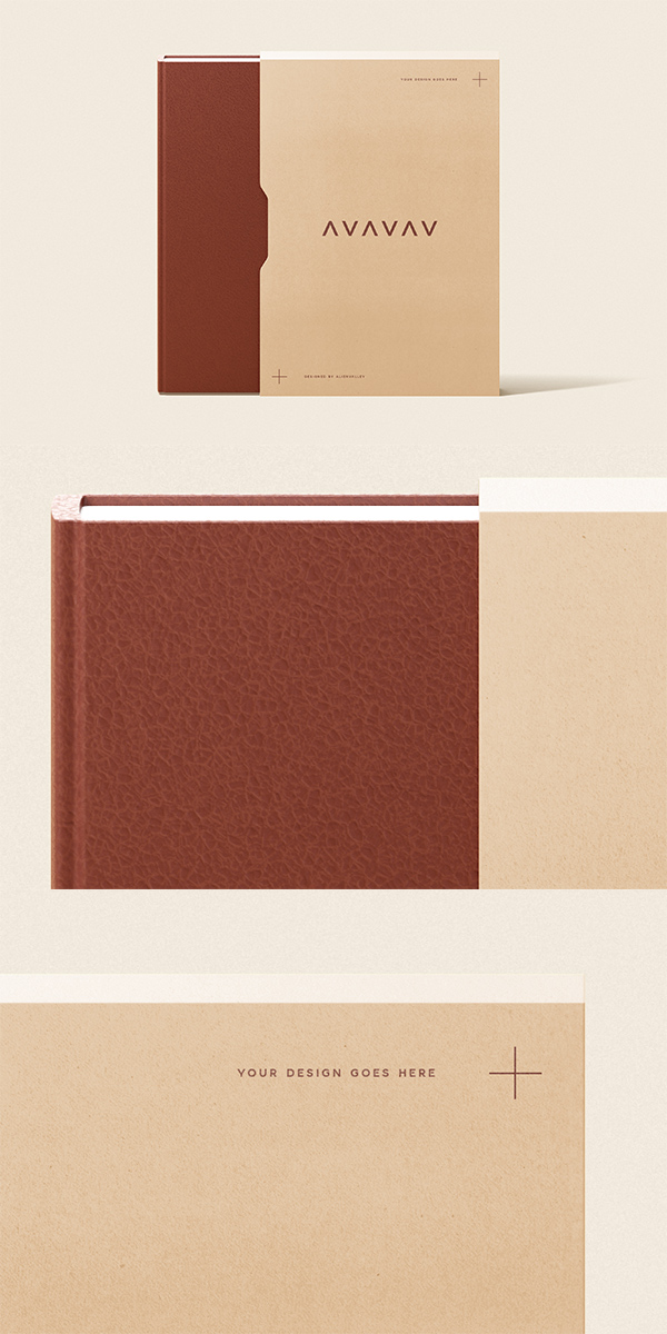 Book With Slipcase Mockup